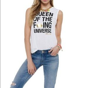 Juicy Couture Queen of the F'ing Universe Tank Top